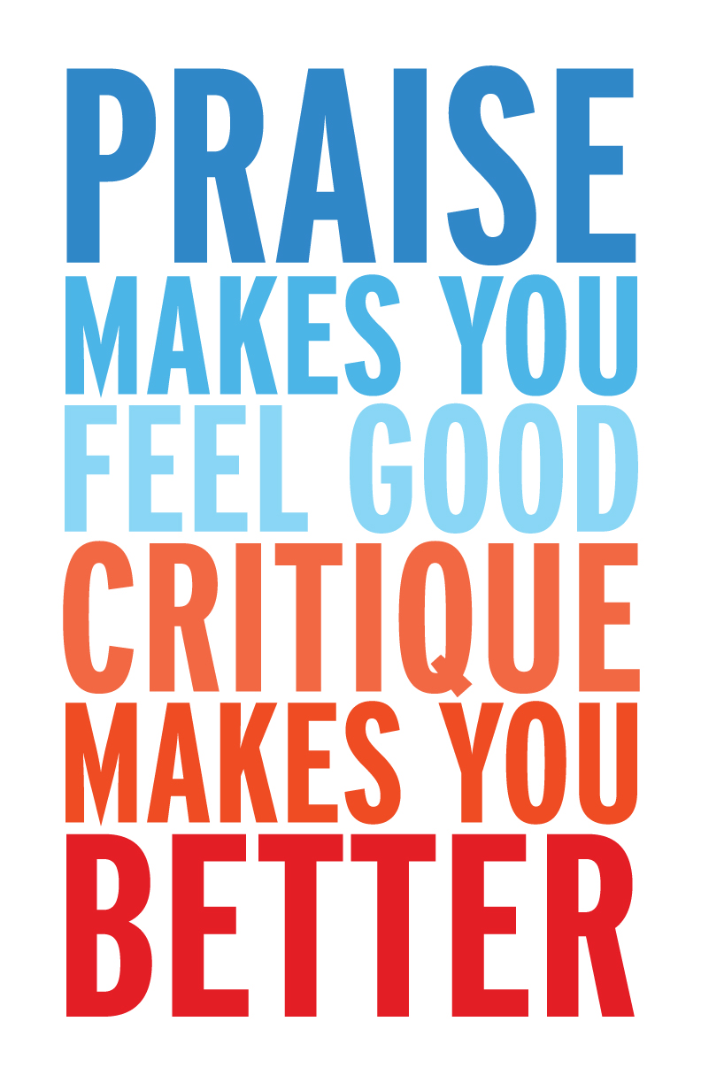 Is criticism really that bad?