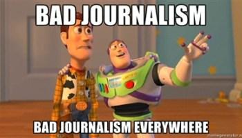 Rubbish journalism
